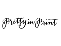 Pretty in Print Calligraphy